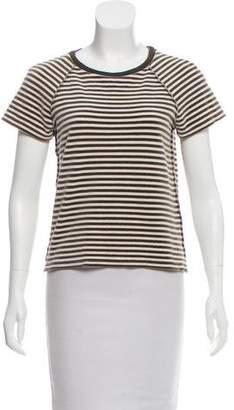 Sonia Rykiel Stripe Short Sleeve Top