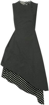 DAY Birger et Mikkelsen Paskal polka dot asymmetric hem dress