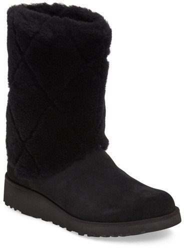 UGG UGG Australia Ariella Luxe Diamond Genuine Shearling Boot (Women)