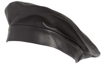 CLYDE Lambskin Leather Beret