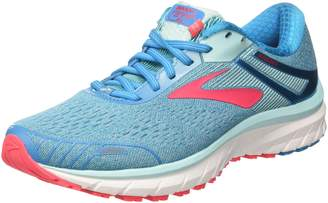 Brooks Women's Adrenaline GTS 18 D Running Shoe (BRK-120268 1D 3935590 9 NAY/TEA/MIN)