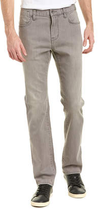 John Varvatos Bowery Seal Grey Slim Straight Leg