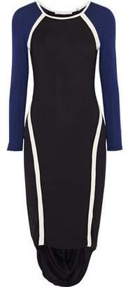 Kain Label Freje Paneled Stretch-Jersey Dress