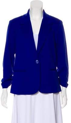 Christian Siriano Structured Notch-Lapel Jacket