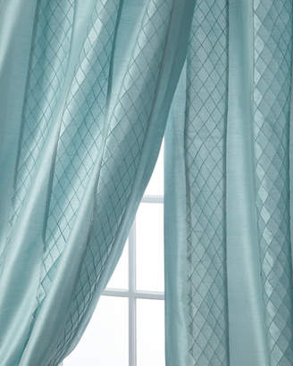 "Home Silks Montana Stripe Curtain Panel, 96""L"