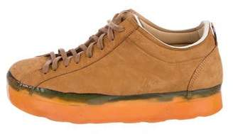 O.x.s. Nubuck Platform Sneakers