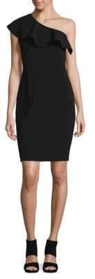 Calvin Klein One Shoulder Mini Dress