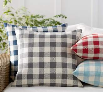 Pottery Barn Gingham Indoor/Outdoor Pillow