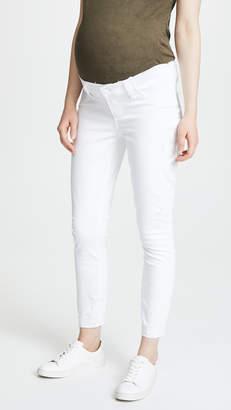 Paige Verdugo Crop Jeans with Raw Hem