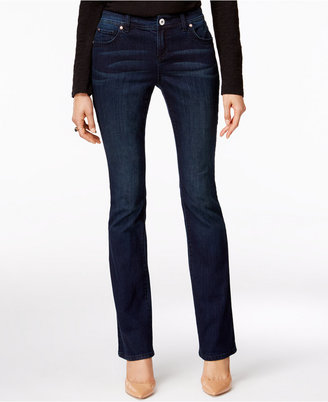 INC International Concepts Bootcut Jeans, Only at Macy's $69.50 thestylecure.com