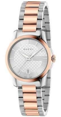 Gucci Women's G-Timeless Quartz Watch YA126528