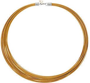 Alor Cable Stainless Steel 30-StrandNecklace