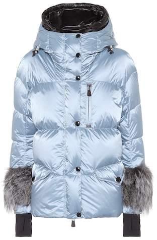 Limides fur-trimmed down ski jacket
