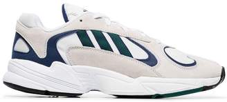adidas grey Yung 1 suede sneakers