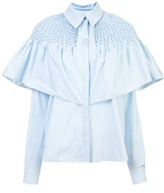 Vionnet ruffled shirt