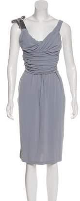 RED Valentino Sleeveless Midi Dress w/ Tags