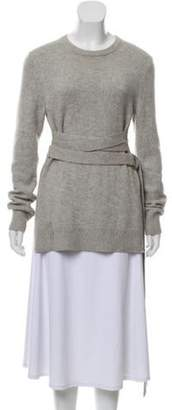 Michael Kors Cashmere Wrap-Around Sweater grey Cashmere Wrap-Around Sweater
