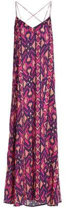 Vix Paula Hermanny Vix Paulahermanny Printed Jersey Maxi Dress