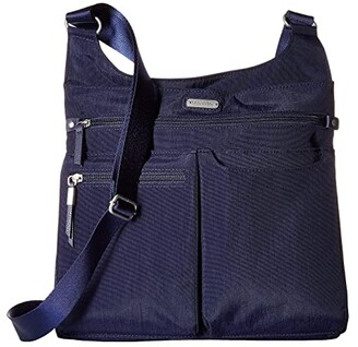 Baggallini New Classic On Track Zip Crossbody with RFID Phone Wristlet