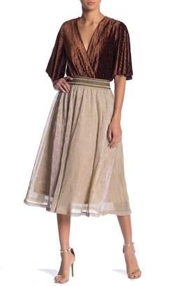 Moon River Sparkle Pull On Skirt