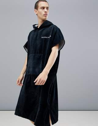 Quiksilver Hoody Towel in Black