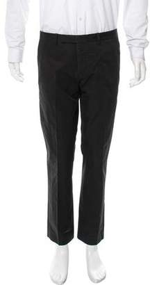 Marni Flat Front Slim-Fit Pants