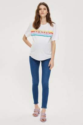 Topshop **Maternity Over The Bump Joni Jeans