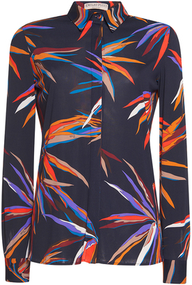 Emilio Pucci Long Sleeve Button Up Shirt $1,140 thestylecure.com