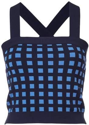 Derek Lam 10 Crosby Knitted Crop Top