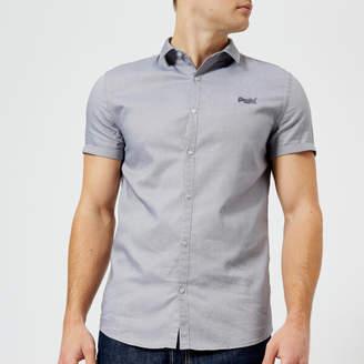 Superdry Men's Royal Oxford Slim Short Sleeve Shirt