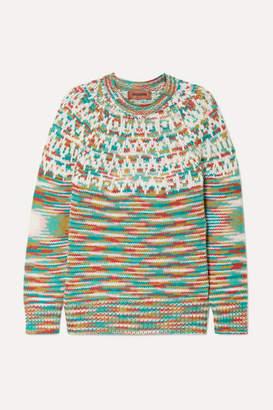 Missoni Wool-blend Sweater - Green