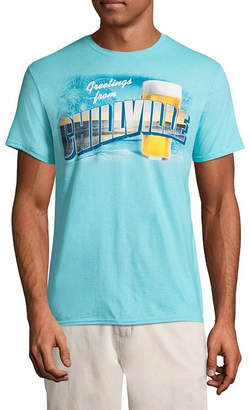 Island Shores Mens Crew Neck Short Sleeve Graphic T-Shirt