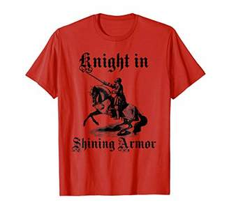 Knight In Shining Armor Medieval and Renaissance T Shirt