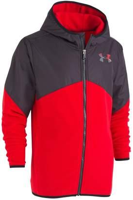 Under Armour Boys 4-7 ColdGear Lightweight Microfleece Hooded Jacket