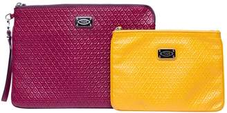 Tod's Burgundy Leather Clutch bags