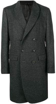 Giorgio Armani double-breasted coat