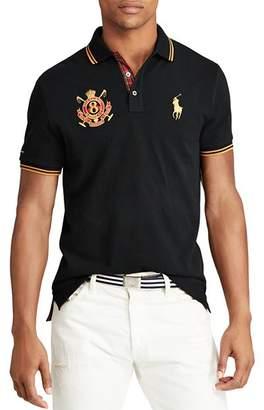 Polo Ralph Lauren Mesh Custom Slim Fit Polo Shirt