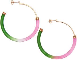 Colette Malouf Gemology Hoop Earrings