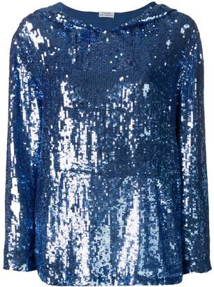 P.A.R.O.S.H. sequin hoodie