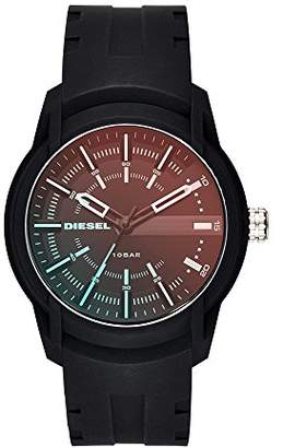 Diesel Men's Armbar Silicone Casual Watch