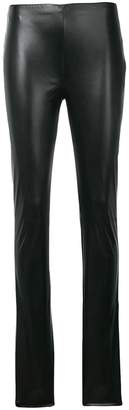 M Missoni faux-leather skinny trousers
