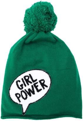 Ultràchic girl power pom-pom hat