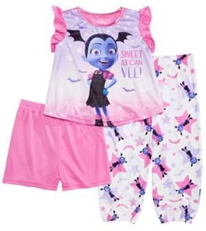 My Little Pony Vampirina Toddler Girls 3-Pc. Vampirina Pajama Set