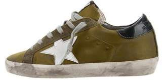 Golden Goose Superstar Low-Top Sneakers w/ Tags