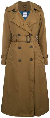 Aspesi double-breasted trench coat