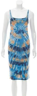 Raquel Allegra Tie-Dye Slip Dress w/ Tags