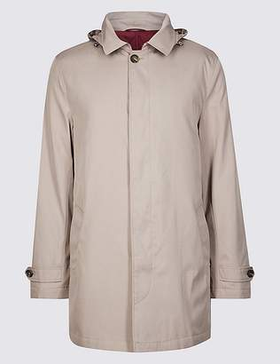 """Marks and Spencer Hooded Mac with Stormwearâ""""¢"""