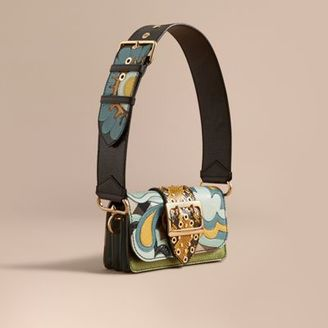 Burberry The Patchwork in House Check Cotton with Weather Appliqué $2,495 thestylecure.com