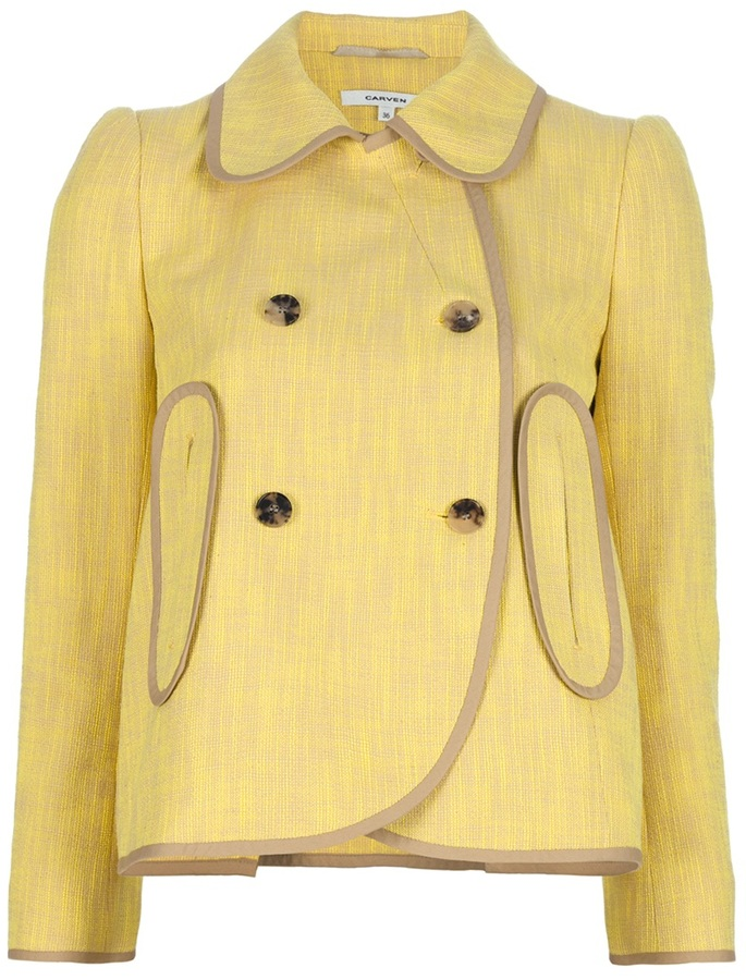 Carven 'Tweed Lemon' jacket