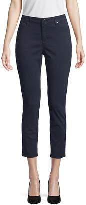 Ellen Tracy Women's Newport High-Rise Cropped Skinny Pants